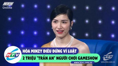 """Xem Show CLIP HÀI Hòa Minzy điêu đứng vì luật 2 triệu """"Trấn an"""" người chơi Gameshow HD Online."""