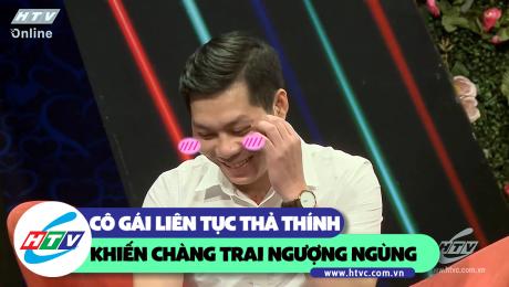 Xem Show CLIP HÀI Cô gái liên tục thả thính khiến chàng trai ngượng ngùng HD Online.