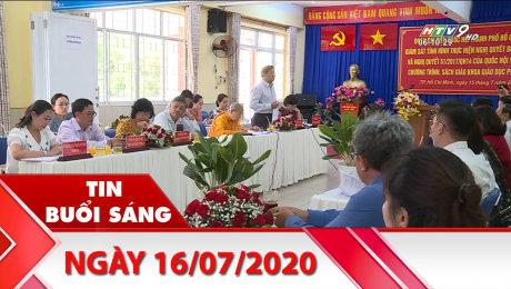 Xem Clip Bản Tin Buổi Sáng 16/07/2020 HD Online.