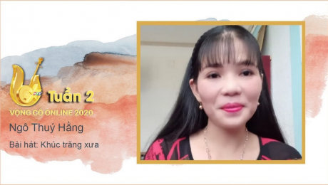 Xem Show TV SHOW Vọng Cổ Online 2020 Tuần 2 : Khúc trăng xưa - Ngô Thuý Hằng HD Online.