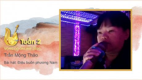 Xem Show TV SHOW Vọng Cổ Online 2020 Tuần 2 : Điệu buồn phương Nam - Trần Mộng Thảo HD Online.