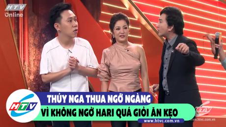 Xem Show CLIP HÀI THÚY NGA THUA NGỠ NGÀNG VÌ KHÔNG NGỜ HARI QUÁ GIỎI ĂN KẸO HD Online.