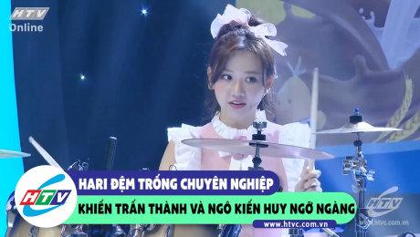 Xem Show CLIP HÀI Hari đệm trống chuyên nghiệp khiến Trấn Thành và Ngô Kiến Huy ngỡ ngàng HD Online.