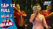 Ca Sĩ Bí Ẩn Mùa 3 Tập 12 : Lâm Khánh Chi ngửi để nhận biết ai là ca sĩ