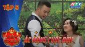 """Bếp Chiến Tập 05 : Ông xã Thanh Trần tiết lộ """"sợ vợ đánh bầm mắt"""""""
