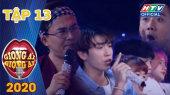 """Giọng Ải Giọng Ai Mùa 5 Tập 13 :  Thành - Giang """"cà khịa"""" chuyện yêu xa của Liêu Hà Trinh"""