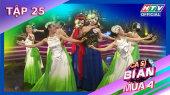 Ca Sĩ Bí Ẩn Mùa 4 Tập 25 : Á hậu Mâu Thủy tranh thủ cơ hội nhảy với thần tượng