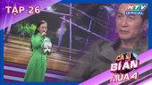 Ca Sĩ Bí Ẩn Mùa 4 Tập 26 : DJ Mie sợ Hồng Thanh xỉu ngang vì đọc rap