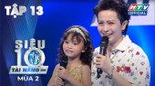 Siêu Tài Năng Nhí Mùa 2 Tập 13 : Những tài năng 5 tuổi mơ đi biểu diễn khắp thế giới