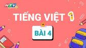 Lớp 1 Vui Học - Môn Tiếng Việt 1 Bài 4 : Làm quen với chữ cái Q  R  S  T  U  Ư  V  X  Y