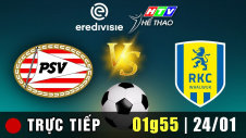 Trực tiếp : PSV vs RKC Waalwijk