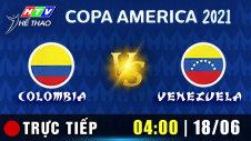 Trực tiếp : COLOMBIA vs VENEZUELA
