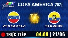 Trực tiếp : VENEZUELA vs ECUADOR