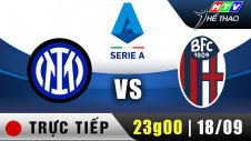 Trực tiếp :  Giải Serie A - Inter Milan vs Bologna