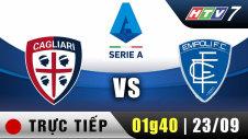 Trực tiếp :  Giải Serie A - Cagliari vs Empoli