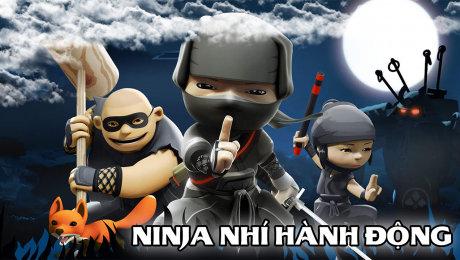 Xem Phim Hoạt Hình - Thiếu Nhi Ninja Nhí Hành Động HD Online.