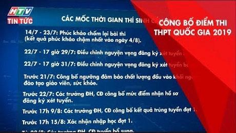 Xem Clip Chính Thức Công Bố Điểm Thi THPT Quốc Gia 2019 HD Online.