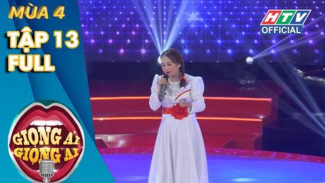 Xem Show TV SHOW Giọng Ải Giọng Ai Mùa 4 Tập 13 : Thành - Giang tái ngộ loạt người quen HD Online.