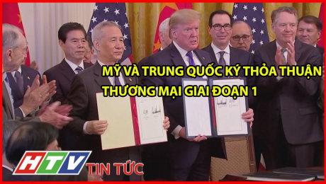 Mỹ Và Trung Quốc Ký Thỏa Thuận Thương Mại Giai Đoạn 1