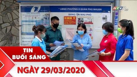 Xem Clip Bản Tin Buổi Sáng 29/03/2020 HD Online.