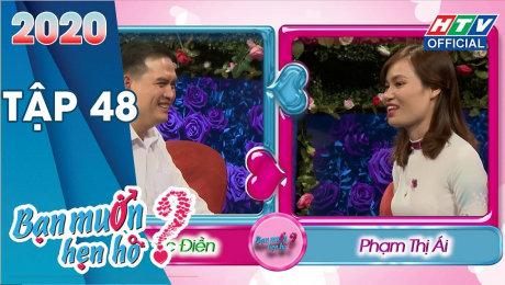 Xem Show TV SHOW Bạn Muốn Hẹn Hò 2020 Tập 48 : Cô giáo tìm được bạn trai lớn tuổi chín chắn HD Online.