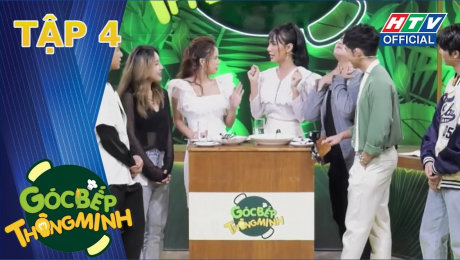 Xem Show TV SHOW Góc Bếp Thông Minh Tập 04 : Lynk Lee bất ngờ thả thính Jun Phạm HD Online.