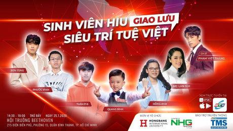 Sinh Viên HIU Giao Lưu Siêu Trí Tuệ Việt