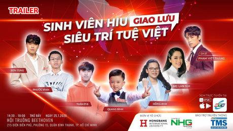 Trailer Sinh Viên HIU Giao Lưu Siêu Trí Tuệ Việt