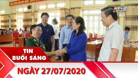 Xem Clip Bản Tin Buổi Sáng 27/07/2020 HD Online.