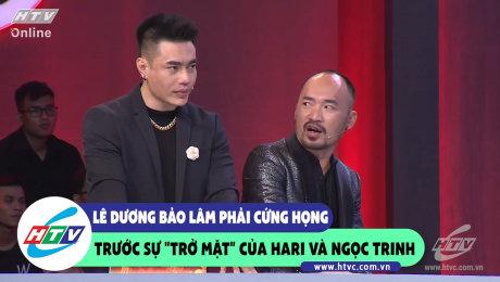 """Xem Show CLIP HÀI Lê Dương Bảo Lâm phải cứng họng trước sự """"trở mặt"""" của Hari và Ngọc Trinh HD Online."""