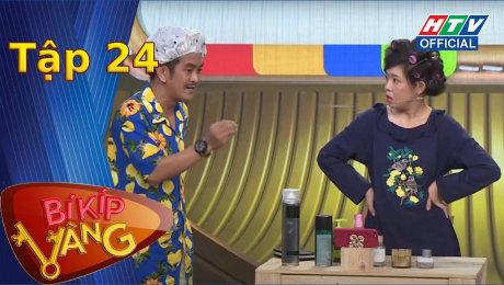Xem Show TV SHOW Bí Kíp Vàng Tập 24 : Lê Lộc, Quốc Khánh tròn mắt khi Dương Thanh Vàng từng nắm tay nhiều cô gái HD Online.