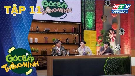 """Xem Show TV SHOW Góc Bếp Thông Minh Tập 11 : Khánh Ngô bất ngờ """"tím"""" khi ngồi gần Võ Điền Gia Huy HD Online."""