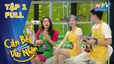 Xem Show TV SHOW Căn Bếp Vui Nhộn Tập 01 : Liz Kim Cương và Osad xuất hiện với mái đầu giống nhau HD Online.