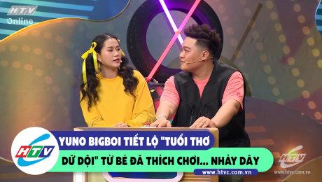 Xem Show CLIP HÀI Yuno Bigboi tiết lộ tuổi thơ dữ dội từ bé đã thích... chơi nhảy dây HD Online.