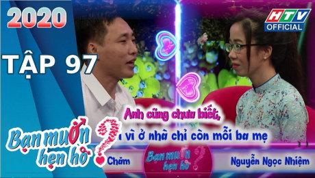 Xem Show TV SHOW Bạn Muốn Hẹn Hò 2020 Tập 97 :  Cô giáo dạy Lý gặp chàng bún mắm HD Online.