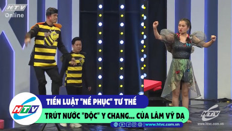 """Xem Show CLIP HÀI Tiến Luật nể phục tư thế trút nước """"độc"""" y chang... Lâm vỹ Dạ HD Online."""
