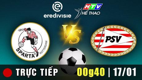 Trực tiếp : SPARTA vs PSV