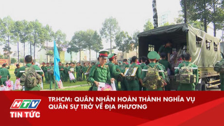 TP.HCM: Quân Nhân Hoàn Thành Nghĩa Vụ Quân Sự Trở Về Địa Phương