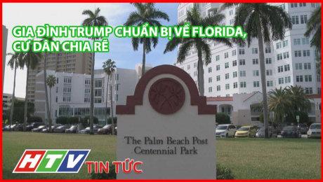 Gia Đình Trump Chuẩn Bị Về Florida, Cư Dân Chia Rẽ