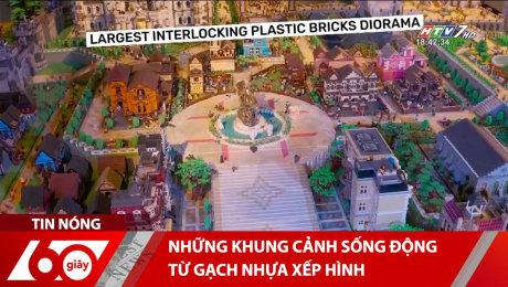 Những Khung Cảnh Sống Động Từ Gạch Nhựa Xếp Hình