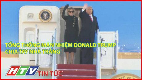 Tổng Thống Mãn Nhiệm Donald Trump Chia Tay Nhà Trắng