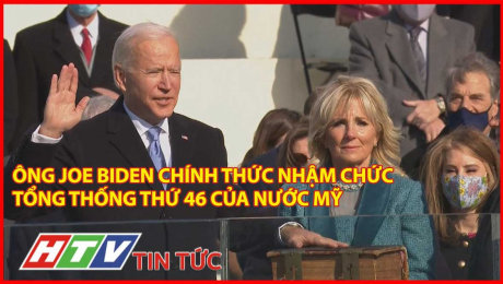 Ông Joe Biden Chính Thức Nhậm Chức Tổng Thống Thứ 46 Của Nước Mỹ