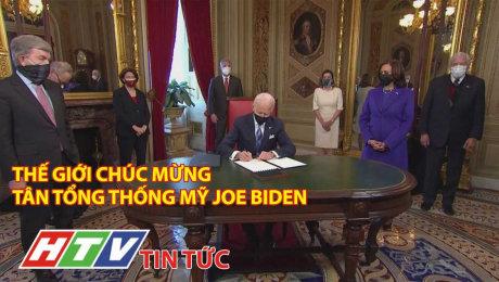 Thế Giới Chúc Mừng Tân Tổng Thống Mỹ Joe Biden