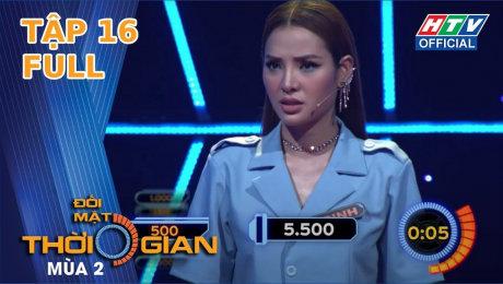 Xem Show TV SHOW Đối Mặt Thời Gian Mùa 2 Tập 16 : Jolie Phương Trinh căng thẳng từng phút trước Đại Nghĩa HD Online.