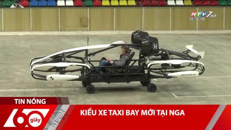 Kiểu Xe Taxi Bay Mới Tại Nga