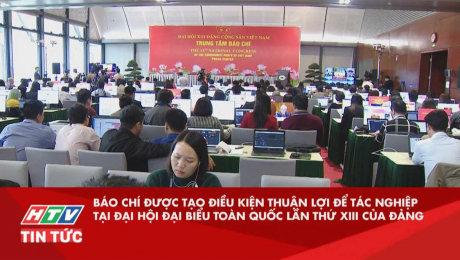 Báo Chí Được Tạo Thuận Lợi Để Tác Nghiệp Tại Đại Hội Đại Biểu Toàn Quốc Lần Thứ XIII Của Đảng