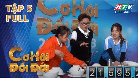"""Xem Show TV SHOW Cơ Hội Đổi Đời Tập 05 : NS Việt Hương gây sốc khi công bố """"con trai"""" cao 2.2m HD Online."""
