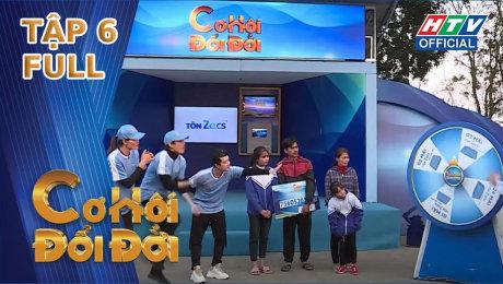 """Xem Show TV SHOW Cơ Hội Đổi Đời Tập 06 : MC Đại Nghĩa """"chạy sút quần"""" để giúp gia đình trên sông HD Online."""