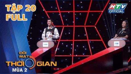 Xem Show TV SHOW Đối Mặt Thời Gian Mùa 2 Tập 20 : Quỳnh Lương khiến cho Bá Vương bị loại khi gọi tên anh HD Online.