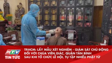 Xem Clip Lấy mẫu xét nghiệm - giám sát chủ động đối với chùa Viên Giác, Quận Tân Bình HD Online.